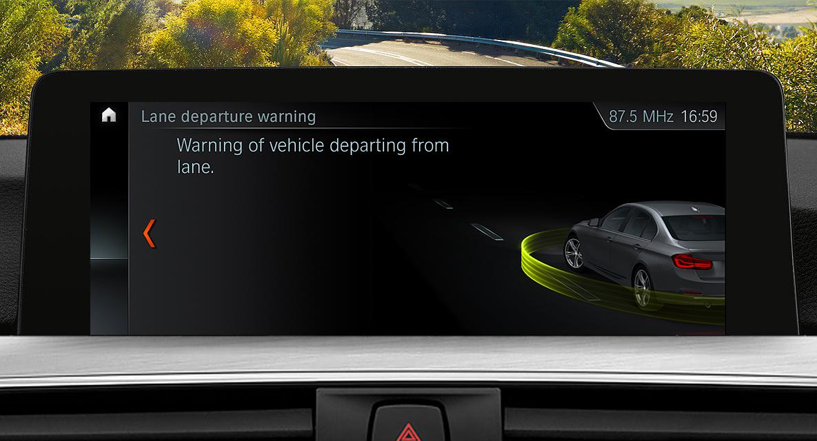 BMW 3 Series Sedan : Driver Assistance